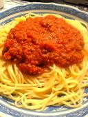 MeatSauceSpaghetti